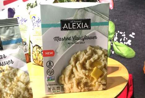 Mashed Cauliflower Dishes - Alexia Foods is Launching a Cauliflower-Based Alternative to Potatoes