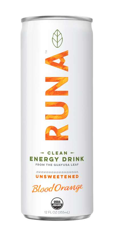 Unsweetened Energy Drinks - Runa's Clean Lime and Blood Orange Drinks Boast Authentic Citrus Flavors