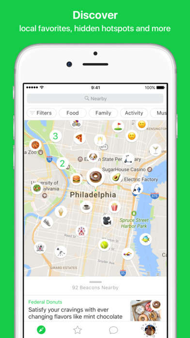 Emoji-Based City Discovery Apps
