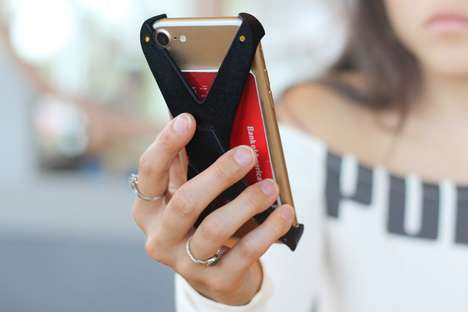 Skeletal Smartphone Storage Cases - The 'Arc' Phone Case Offers a Bevy of Functions and Protection