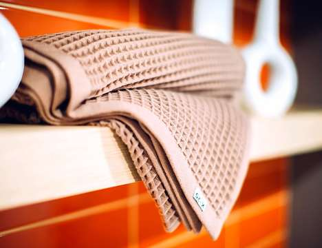 Lightweight Quick-Dry Eco Towels - The K-25 Bathing Towels Absorb Water Yet Dry Exceedingly Quick