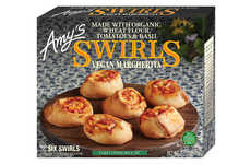 Natural Frozen Pizza Bites - Amy's Swirls are Crafted with Premium Organic Ingredients