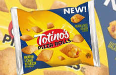 Pasta-Packed Pizza Snacks - The Totino's Mac and Cheese with Bacon Pizza Rolls are Indulgent