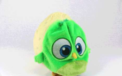 Reversible Egg Toys - MAAD Toys is Launching a Transformative Angry Birds Soft Toy Range