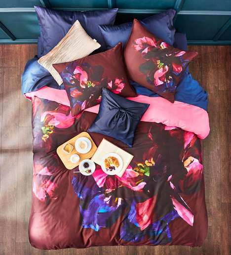 Designer Bedroom Sets - Ted Baker's SS17 Line Features Luxurious Bedding