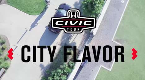 Food-Focused Automotive Pop-Ups - Honda's Civic Tour Includes 'City Flavor' Food & Music Experiences