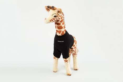 Plush Toy Streetwear - Balenciaga Launched a New Line of Apparel for Small Stuffed Animals