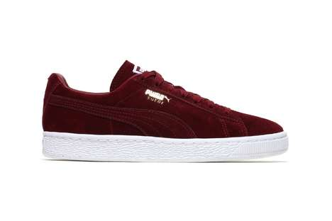 Streamlined Suede Sneakers - Puma's Suede Classic Model Was Recently Revamped with New Colorways