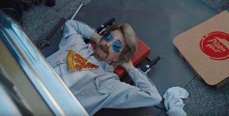 American Everyman Commercials - Kristen Wiig has Multiple Identities in the Pizza Hut Everyman Ad