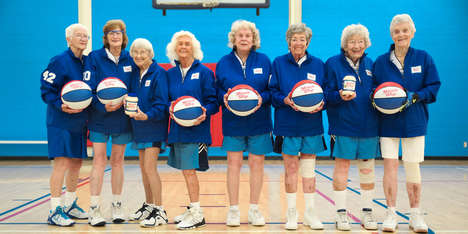 Senior Endorsement Deals - For Miracle Whip's 84th Birthday, It Endorsed a Senior's Basketball Team