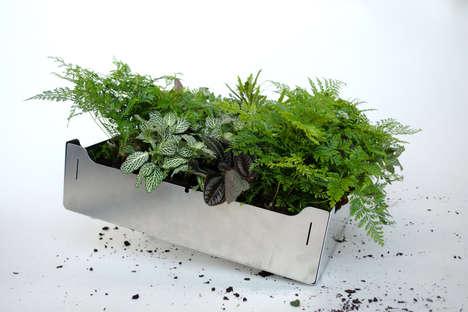 Modular Rooftop Gardening Kits