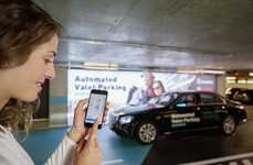 Self-Parking Vehicle Services - The Daimler and Bosch Automated Valet Parking Service is Convenient
