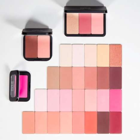 Mix-and-Match Makeup Palettes - Make Up For Ever's Artist Face Color Range is Fully Customizable