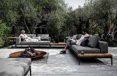 Elegant Interchangeable Outdoor Sofas