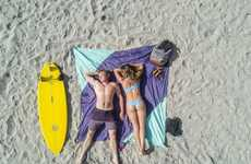 Expansive Quick-Dry Beach Blankets