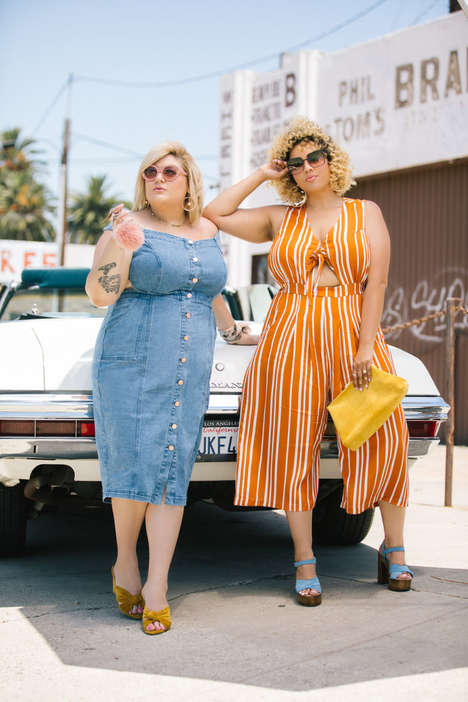 Blogger-Made Plus-Size Fashion - Nicolette Mason and Gabi Gregg's 'Premme' is Style-Conscious