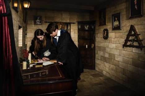 Magical Escape Rooms - This Harry Potter Escape Room Takes Participants Through an Adventure
