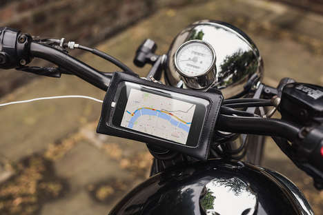 The Malle London James Navigator GPS Smartphone Sleeve is Chic