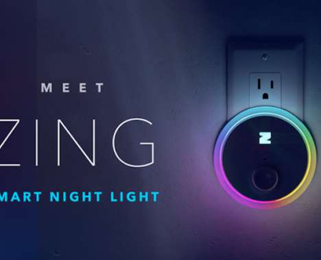 Smart Motion-Tracking Night Lights