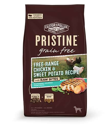 Hybrid Dog Food Meals - PRISTINE's Grain-Free Formulas Combine Kibble and Freeze-Dried Raw Meat