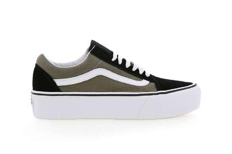Chunky Platform Skate Shoes