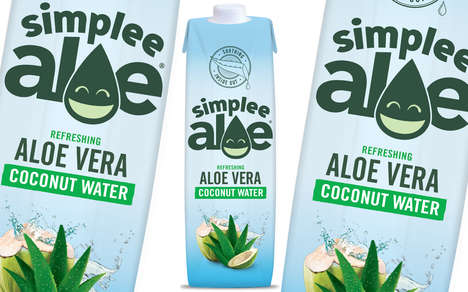 Aloe Vera-Infused Coconut Waters