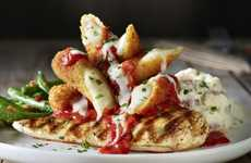 Indulgently Topped Restaurant Menus - The Applebee's 'Topped & Loaded' Menu Upgrades Favorites