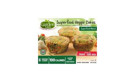 Nutrient-Dense Snack Cakes - The Garden Bites Superfood Veggie Cakes are Just 100 Calories Each
