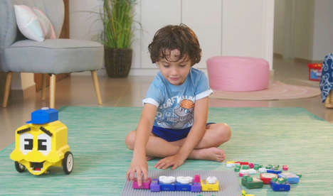 LEGO-Compatible Coding Blocks - 'Algobrix' is a Railroad-Building Kid-Friendly Coding Game