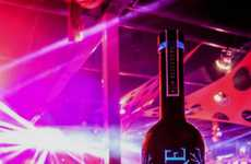 Luminous Vodka Bottles