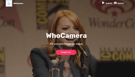 Celebrity Recognition Apps - WhoCamera is the Shazam of Celebrities