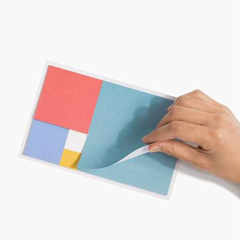 Fibonacci Sequence Sticky Notes - Poketo's Golden Ratio Sticky Notes Reflect the Math Sequence