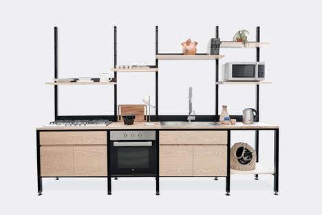 Modular Kitchen Stations