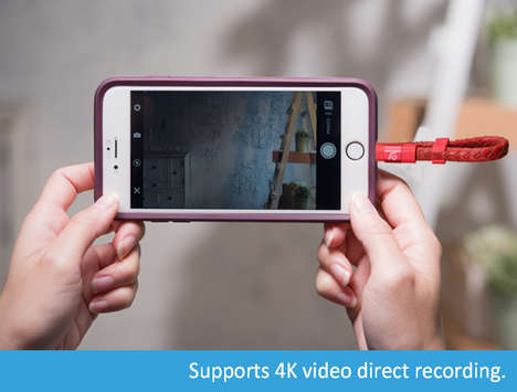 Recording Expansion Smartphone Drives - The iKlips Wizard Opens Up iOS Recording Capabilities
