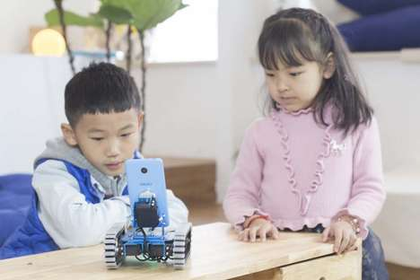 Kid-Friendly Robot Kits - 'IronBot Chap' is a DIY Robotics Kit for Kids That Offers STEM Education