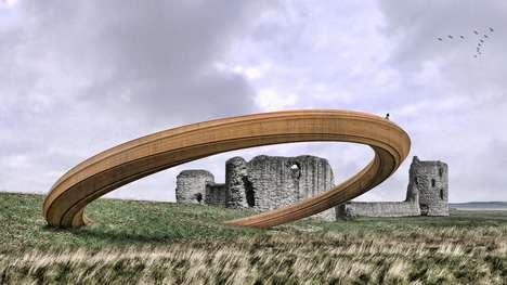 Controversial Iron Ring Sculptures