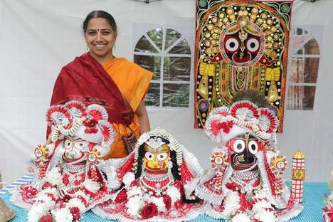 Hindu Festival Gatherings - The Reading Rathayatra Festival is a Family Friendly Event