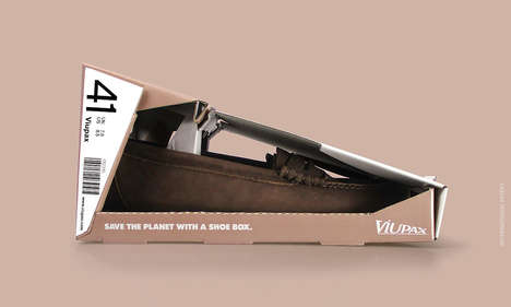 Waste-Reduction Shoe Boxes - Matadog Design Has Created a More Eco-Friendly Shoe Box