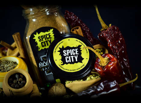 Color-Coded Spice Collections - The Spice City Collection Features Vibrant Designs