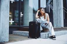 Connected Luggage Collections - The Bluesmart Series 2 Smart Luggage System Has GPS and More