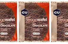 Workout Supplement Waffles - The Gu Energy Stroopwafel Hot Chocolate is Packed with Amino Acids