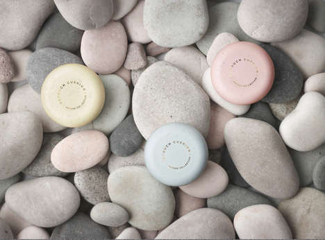 Stone-Like Skincare Packaging