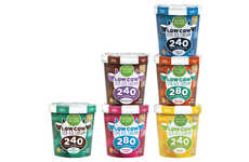 Low-Fat Protein Ice Creams - The Kroger Simple Truth Low Cow Lite Ice Cream is a Healthy Alternative