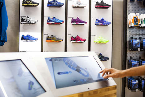 Empowering Footwear Stores - This ASICS' Store Concept Helps Consumers Understand Their Own Needs