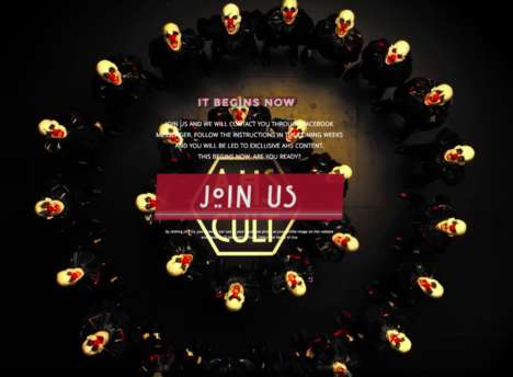 TV Teaser Chatbots - FX is Counting Down to American Horror Story: Cult with an Interactive Bot