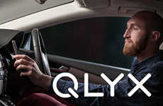 App-Enabled Car Smartphone Docks - The 'QLYX' Smart Mounts Upgrade Your Vehicular Experience