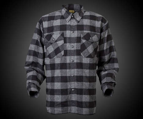 Protective Kevlar Flannels - The ScorpionExo Covert Kevlar Flannel Shirt is Lined with Protection