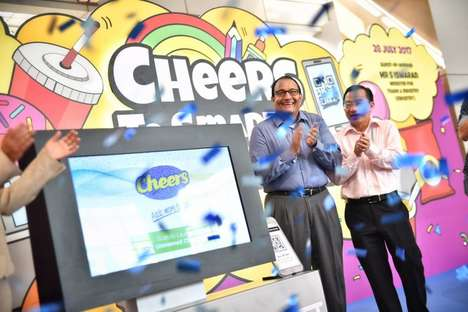 Unstaffed Convenience Stores - Singapore's 'Cheers' Store Encourages Consumers to 'Shop It Yourself'