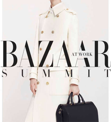 Empowering Magazine Conferences - The Harper's Bazaar 'Bazaar At Work Summit' Targets Female Leaders