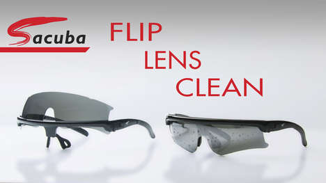 Self-Cleaning Sunglasses - Sacuba Sunglasses Feature Built-In Pads for Cleaning